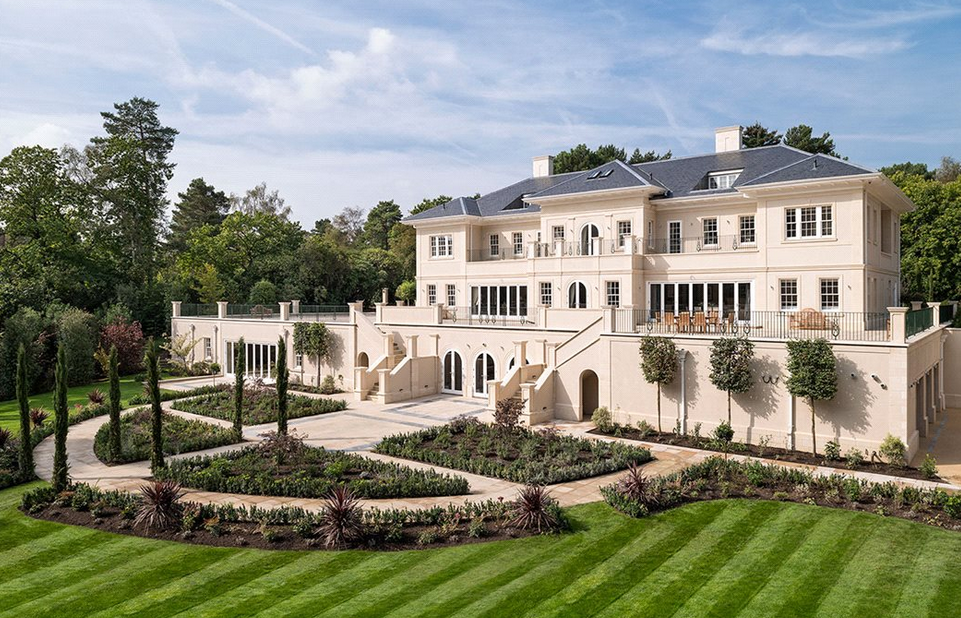 Millionaire toys global woodrow mega mansion in surrey england