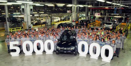 Dacia 5 milioane