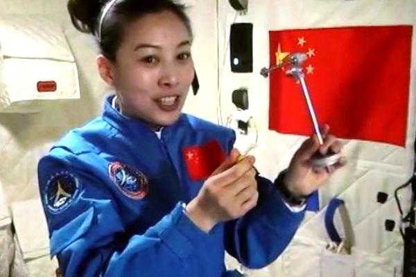 Wang Yaping, astronot perempuan China. Kotabumi Lampung Utara