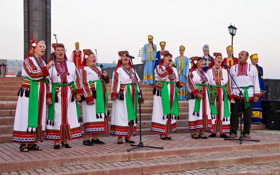 Открытие фонтанного комплекса Навеки с Россией