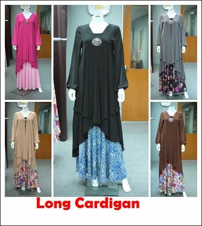 Long Cardigan yang cantik menarik