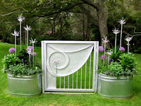 Photo of my favorite garden gate.
