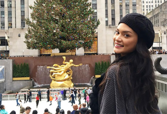 Miss Universe 2015 Pia Wurtzbach message to Miss Colombia