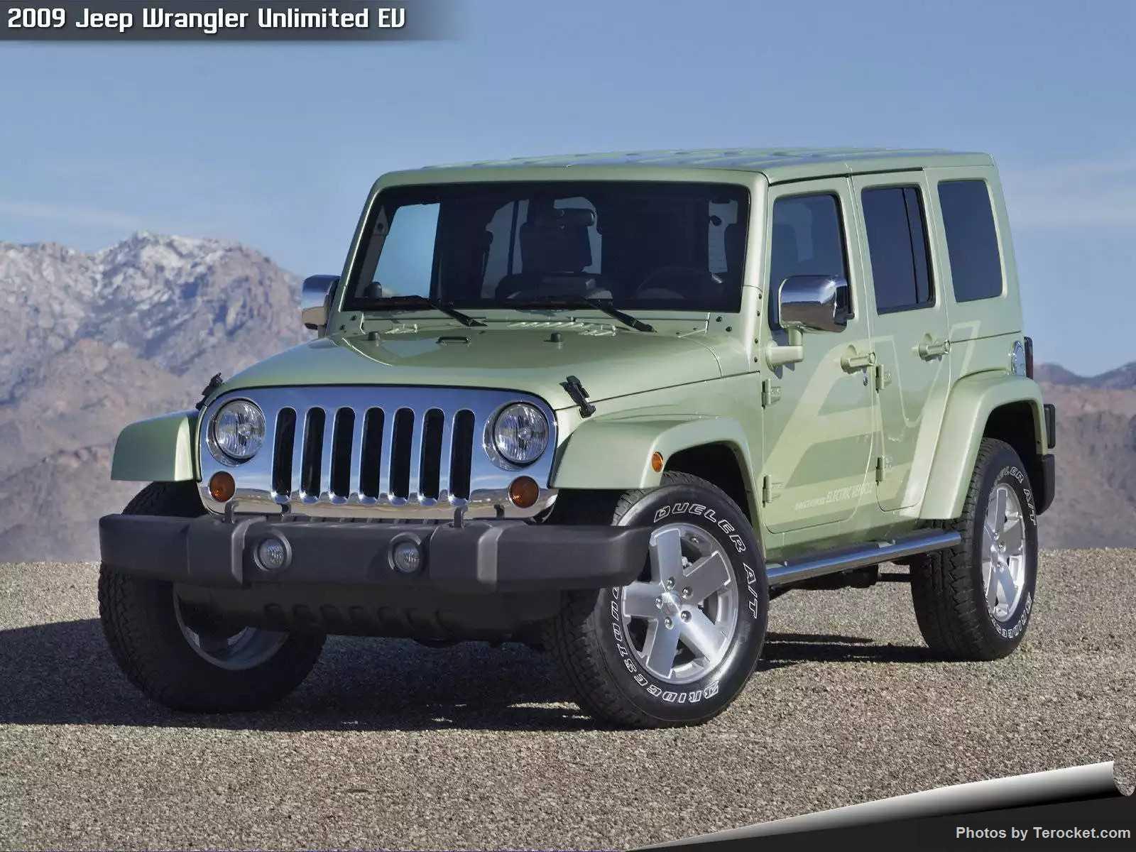 Hình ảnh xe ô tô Jeep Wrangler Unlimited EV 2009 & nội ngoại thất
