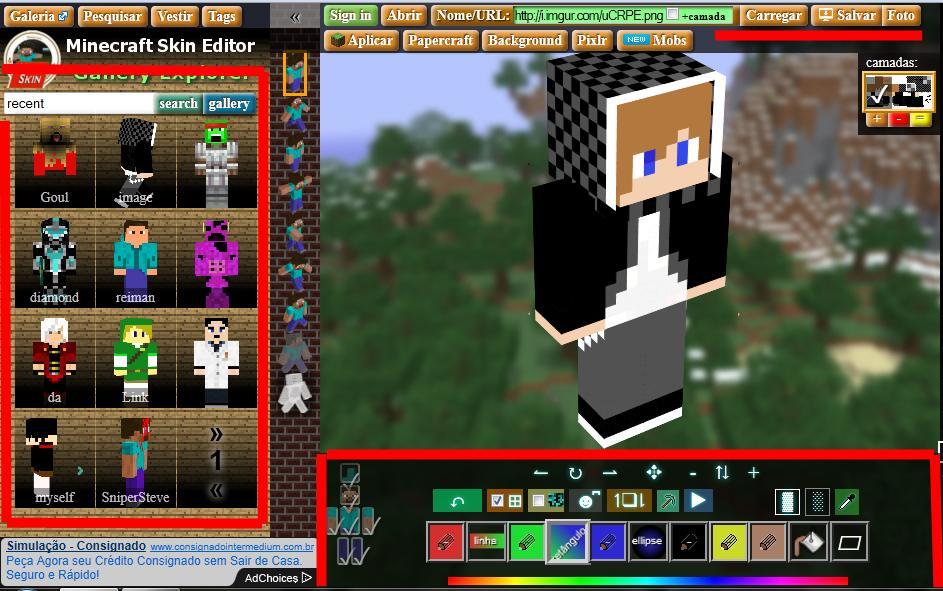 Loucos Por Jogos Como Criar Uma Skin Para Minecraft - Criar skin para minecraft pc