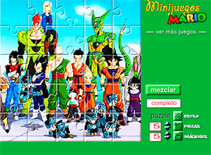 diez puzzles de Dragon Ball Z
