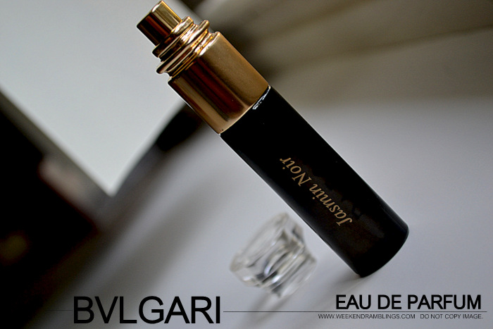 Bvlgari Jasmin Noir Eau de Parfum Designer Fragrance Perfume for Women Reviews Ingredients Fall Winter EDP Indian Makeup Beauty Blog