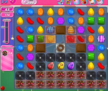Candy Crush Saga 400