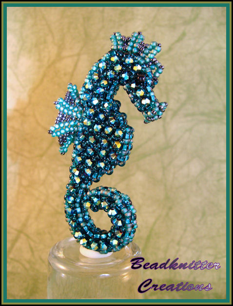 bead knitter gallery luis the seahorse