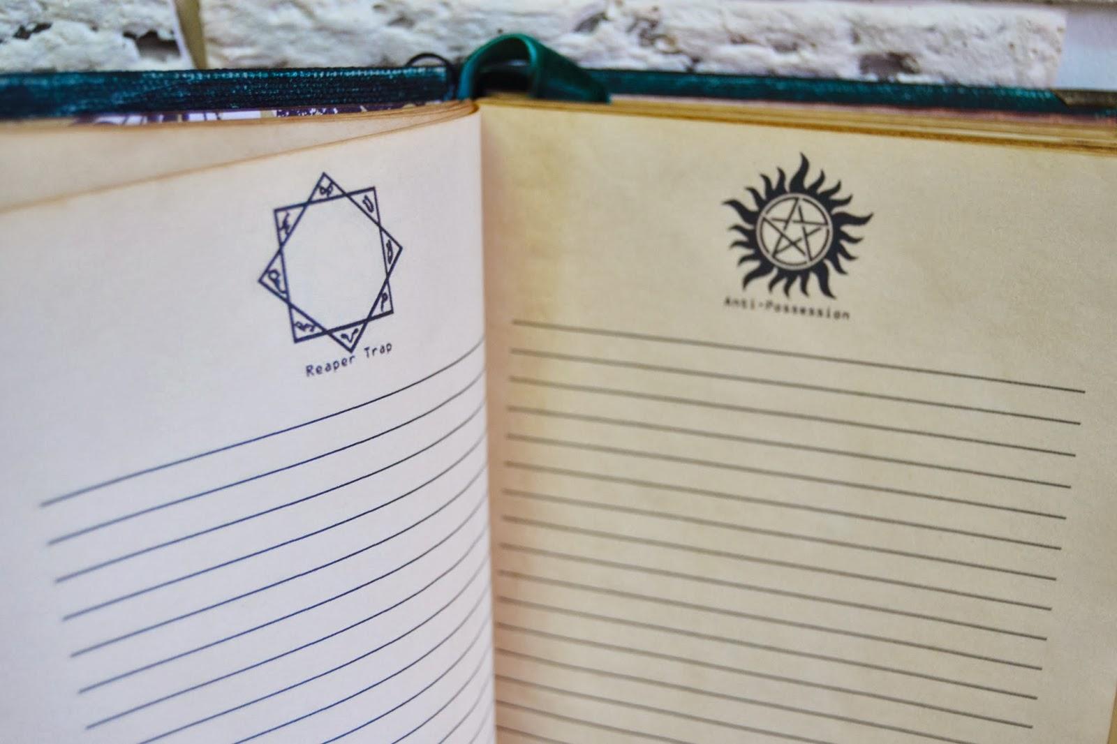 Дневник джона винчестера своими руками 39