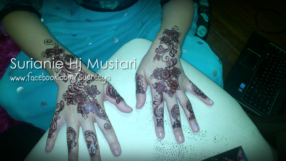 Inai Jenama Party Mehndi : A henna artist s diary inai for erni and party