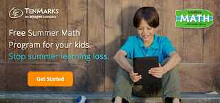 TenMarks - Math Freebie for Summer Learning. Save $39.95 per child!