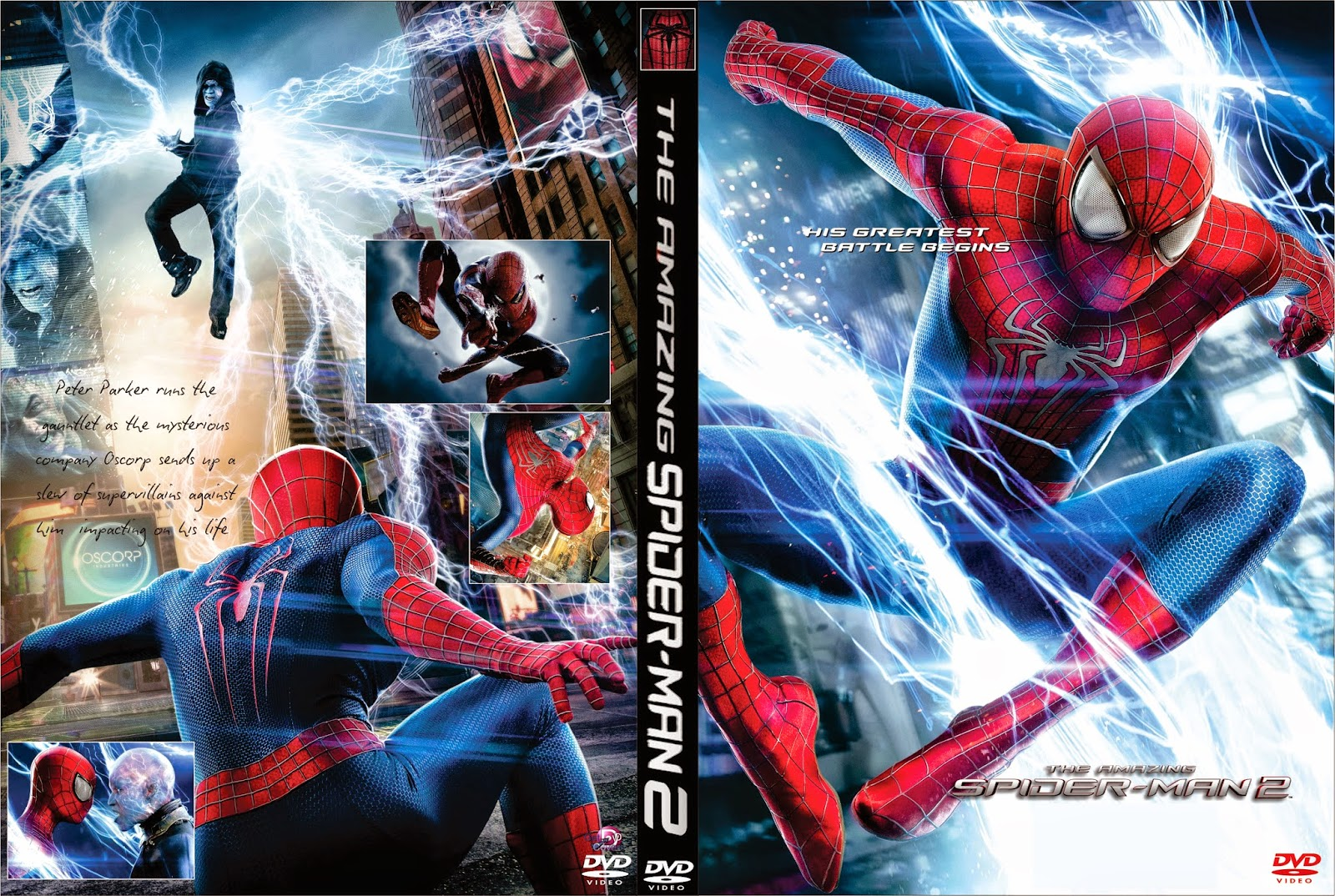 The Amazing Spider-Man 2 El Poder De Electro DVD