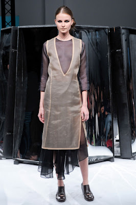 Paris Fashion Week S/S 2012: Vasilisa Pavlova in Aganovich and Commuun shows