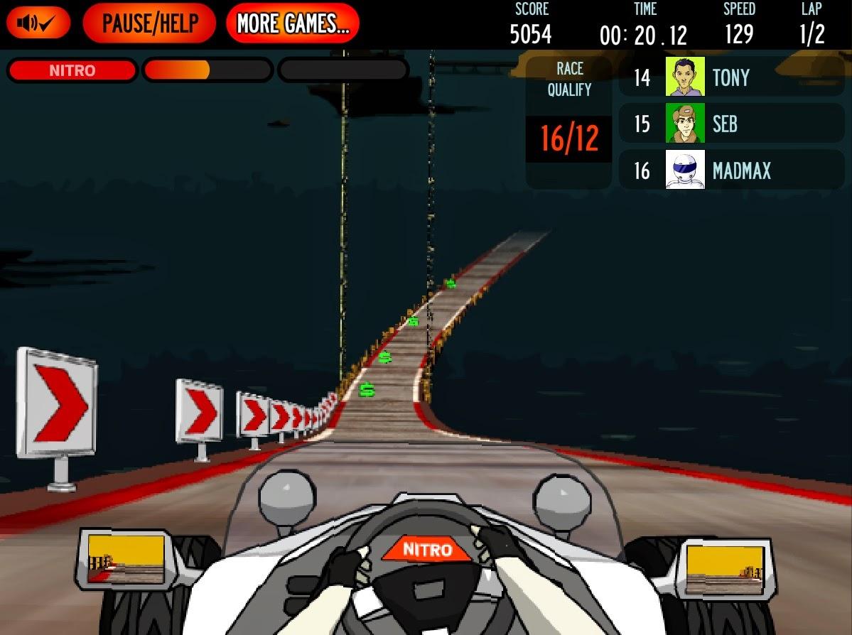 Perfect nitro car game new car games free