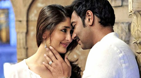 kareena ajay in singham return bollywood pictures