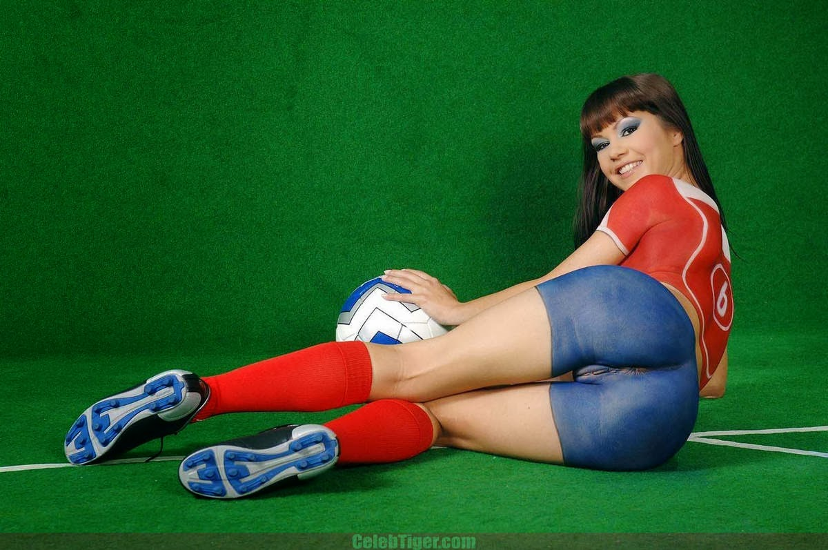 girl body painting pussy Pussy Football 83