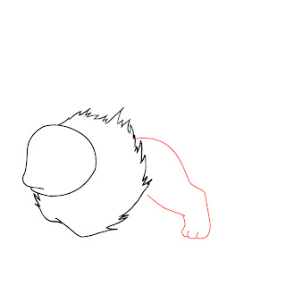 How To Draw Flareon Step 3