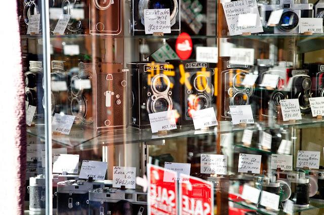 Tienda de cámaras de segunda mano Japón