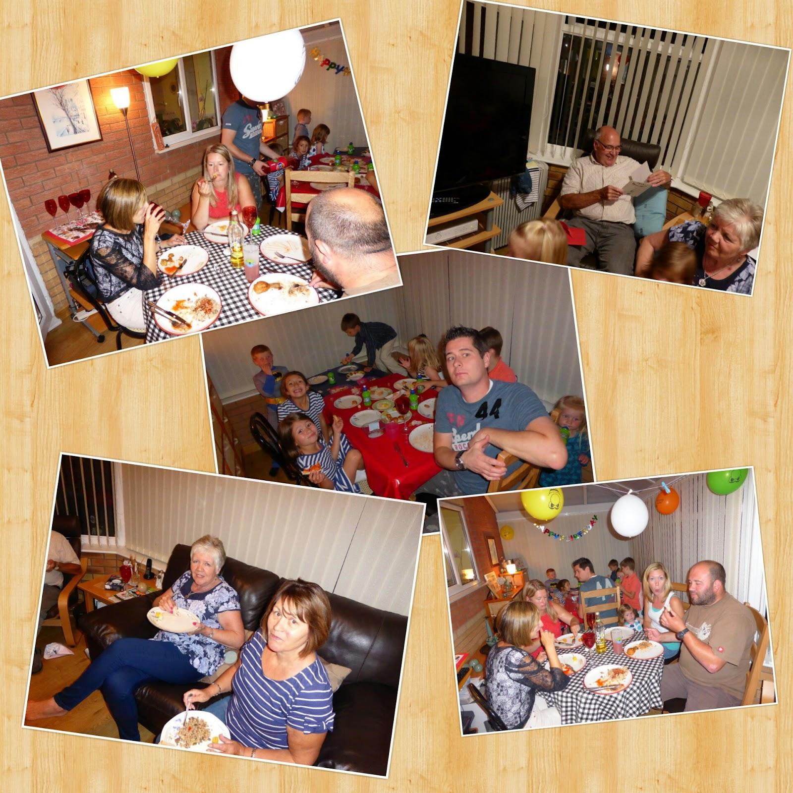 Blogford: Grandad Basford's 70th Birthday Dinner