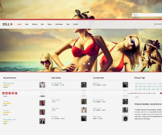 Sell - Responsive WordPress Ecommerce Theme