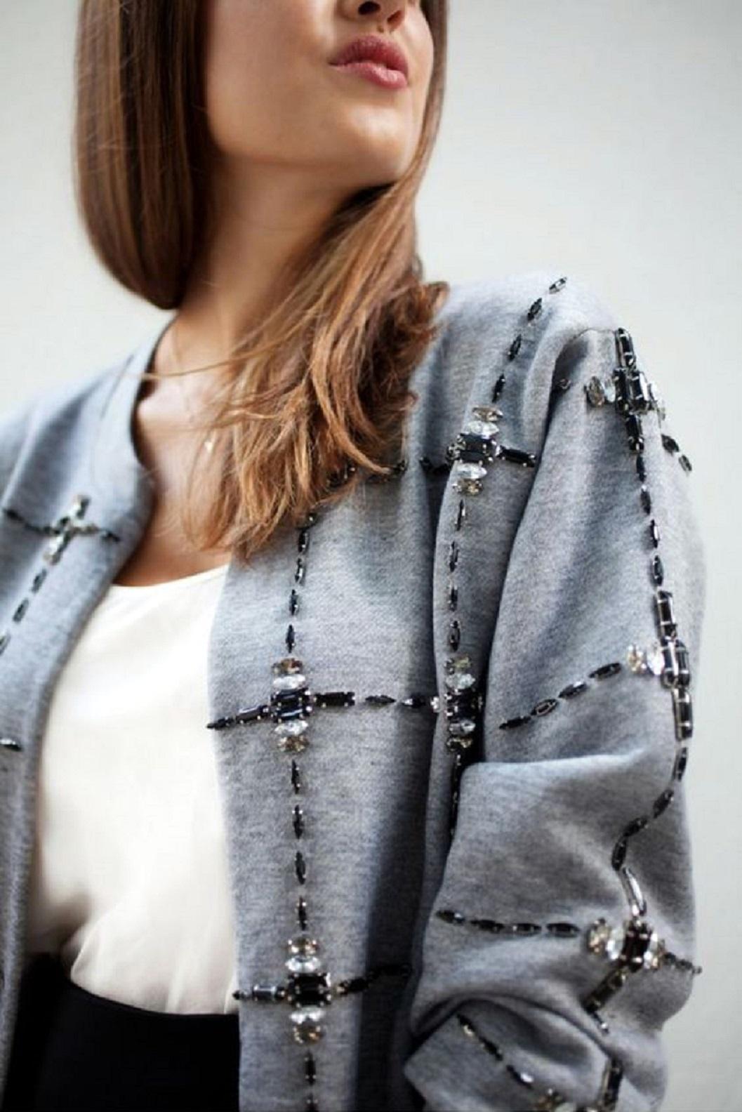 Как переделать классический пиджак своими руками