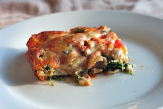 lasagna 2 Vegetable Lasagna with Spinach and Mushrooms