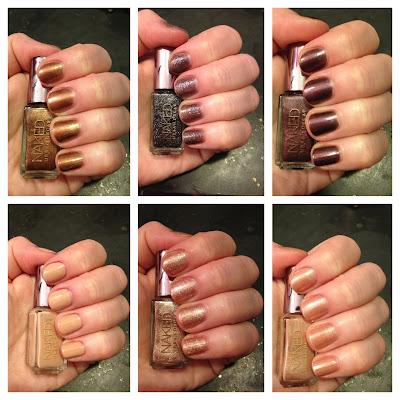 Urban Decay, Urban Decay Naked Nail Set, nail polish, nail varnish, nail lacquer, manicure, mani monday, #manimonday, nails