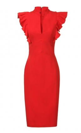 http://www.hybridfashion.com/dresses-c5/frill-sleeve-deep-v-neckline-dress-red-p679