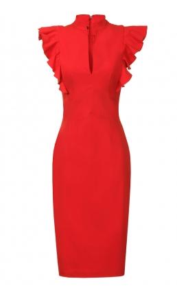 http://www.hybridfashion.com/dresses-c5/frill-sleeve-deep-v-neckline-dress-red-p679