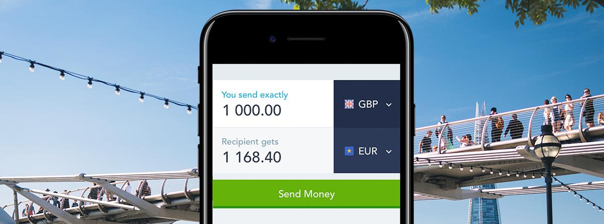 Transfer de bani on-line | Trimite bani în străinătate cu TransferWise.ro