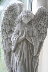 Vacker ängel, gjutform i latex.