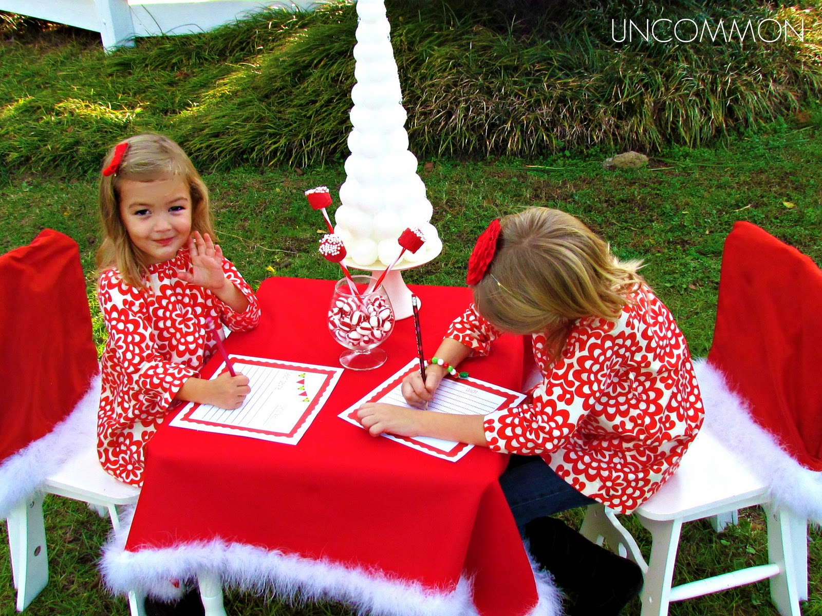 Uncommon Events: Letter To Santa Party { A Free Printable