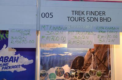 Trek Finder Sabah