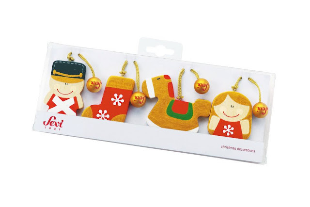 John Crane and Sevi Toys Christmas Decorations