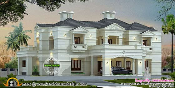 New modern luxury home