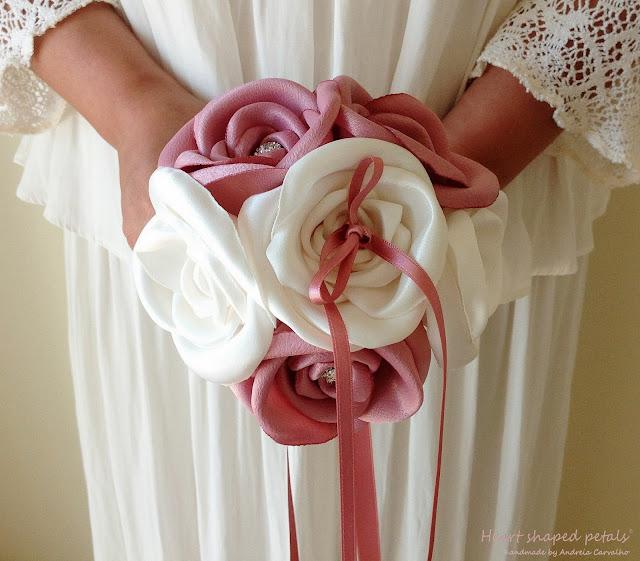 fabric bouquet ring bearer