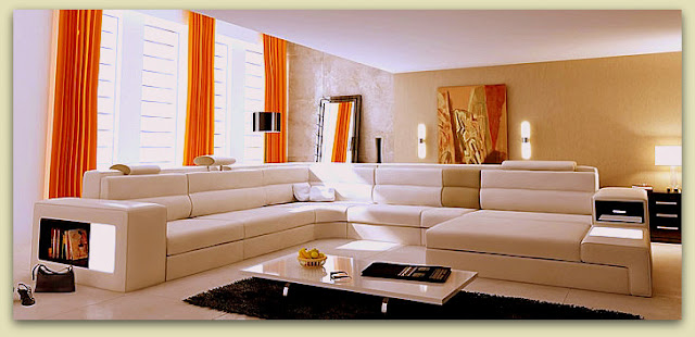 Dise o y decoraci n de la casa muebles seccionales de for Muebles diseno living