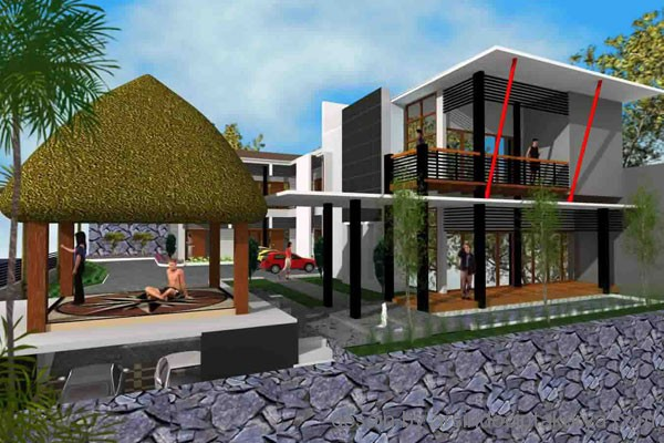 Home design big type for Tropical minimalist house design