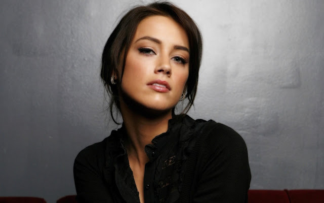 Amber Heard Brunette Girl