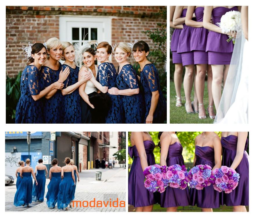 de novia y damas de honor 2013