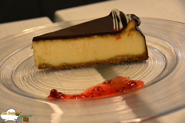 chocolate ganach with cheesecake