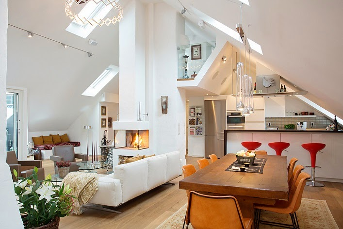 Interior Design Attic Apartment