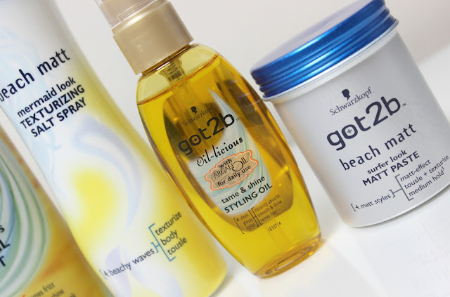 A picture of Schwarzkopf got2b Oil-licious tame & shine STYLING OIL