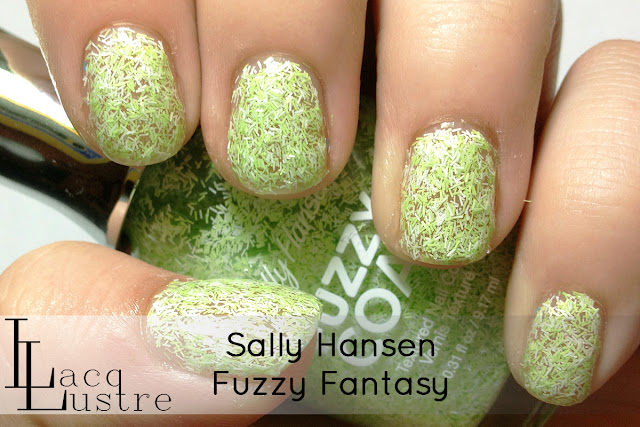 Sally Hansen Fuzzy Fantasy swatch