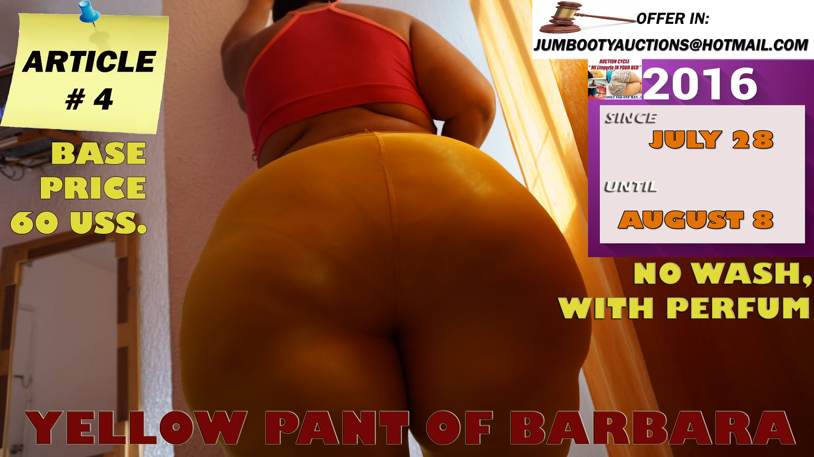 YELLOW PANT click in pic for wiew video