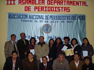 Periodistas y amigos de la ANP FH