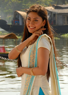 manjari hot pic in white top