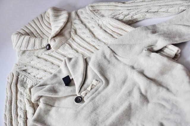 свитер шалевый воротник