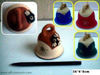 souvenir bell gantungan